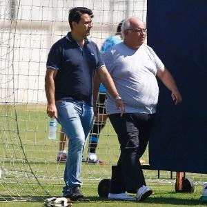 """Bolzan sobre Rui Costa: """"Não é no grito ou no peitaço que vão tirá-lo"""""""