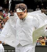 Retrospectiva fashion – Wimbledon, Roger Federer2009