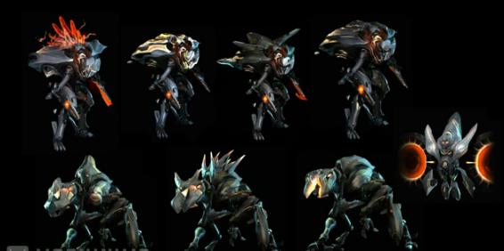 A variedade nada variada de inimigos em Halo 4