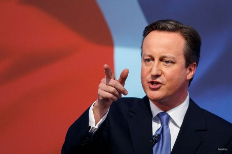 O grande inimigo do capital, David Cameron, do Partido Conservador