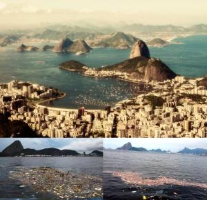 Um local, múltiplos cenários: a linda Baía de Guanabara, símbolo do Rio de Janeiro e da incompetência de seus administradores