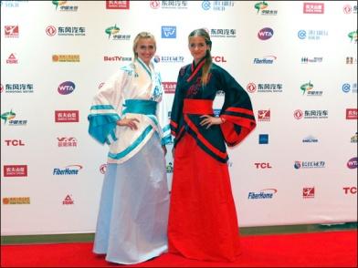As tchecas, Petra Kvitova e Karolina Pliskova
