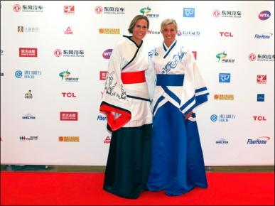 As tchecas Lucie Hradecka e Andrea Hlavackova
