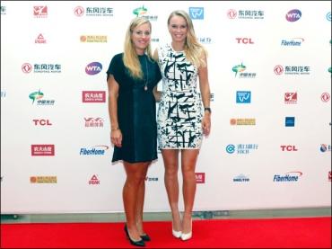 Angelique Kerber e Caroline Wozniacki
