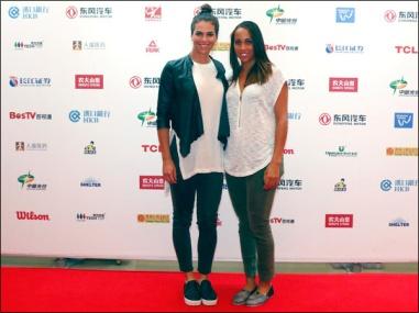 Ajla Tomljanovic e Madison Keys