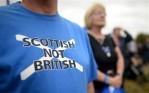 Plebiscito escocês sobre a independência completa umano