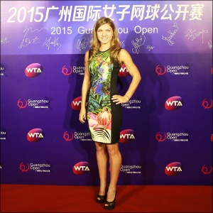 A romena nº 2 do ranking, Simona Halep