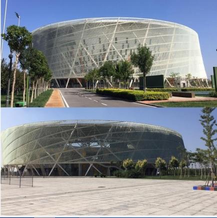 Estádio em que serão disputados os jogos do torneio de Tianjin