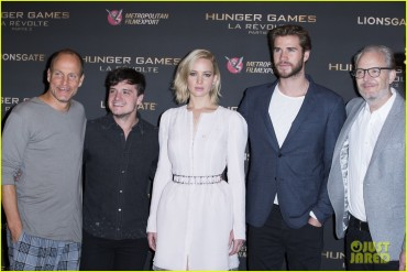 'Hunger Games : Mockingjay Part 2' Photocall in Paris