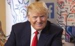 Trump está nafrente
