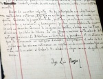 """Manuscritos de """"A Biblioteca de Babel"""", de Jorge Luis Borges encontrados noBrasil"""