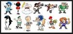 Os mascotes dos clubes da série A doBrasileirão