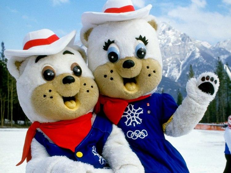 Calgary 1988 Mascots_240537