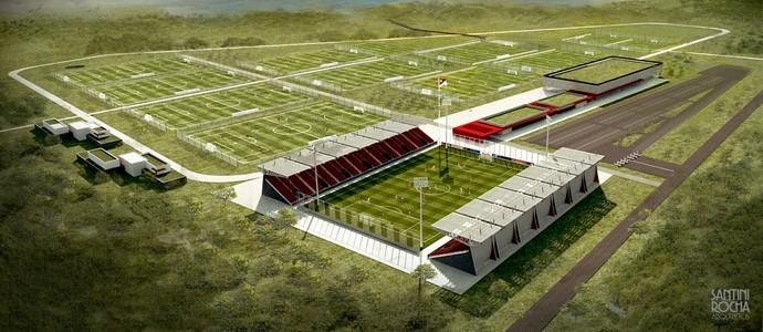 ec73149f21 Projeto do novo Centro de Treinamento (CT) do Inter em