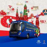 Drops – As frases dos ônibus das Seleções da Copa do Mundo2018