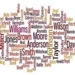 Os sobrenomes mais comuns nos Estados Unidos – e o que eles nosindicam