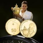 DROPS – Suíça lança moeda comemorativa ao tenista RogerFederer